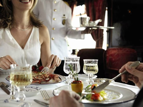 Venice Simplon Orient Express Lunch