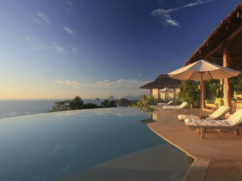 Main Pool at the Hilltop Reserve Six Senses Yao Noi in Thailand